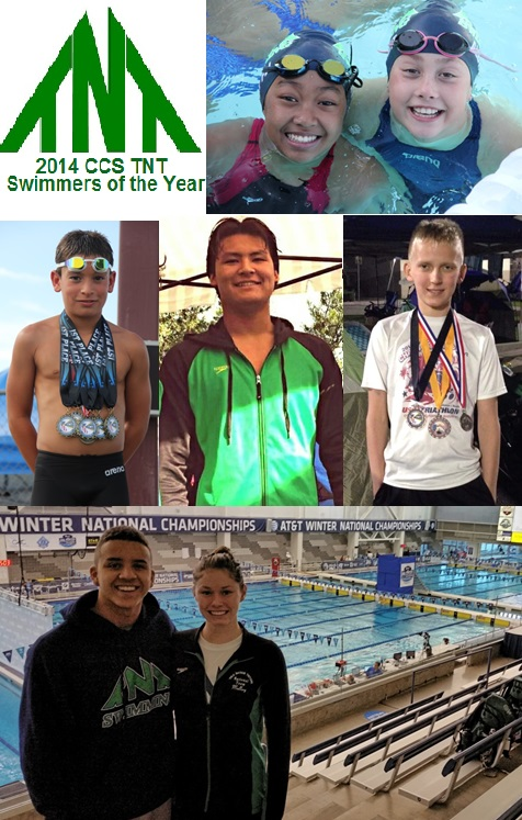 2014 Swimmers of the Year